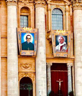 Monseñor Romero y Pablo VI nuevos santos de la Iglesia CatólicaMonseñor Romero y Pablo VI nuevos santos de la Iglesia Católica