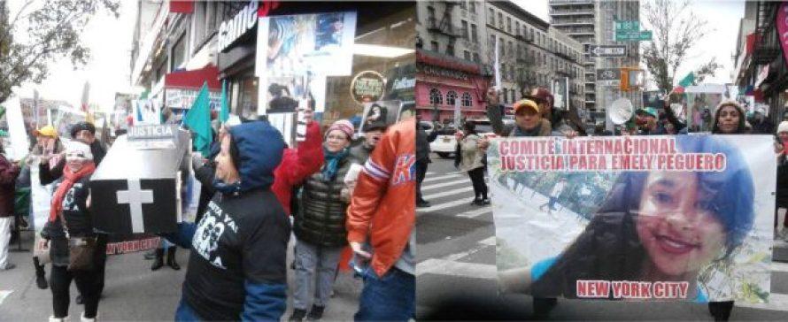 Dominicanas NY realizan caminata contra violencia de género y corrupción