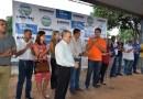 BARREIRAS: VEREADORES PARTICIPAM DE LANÇAMENTO DE OBRAS NO POVOADO DO CANTINHO