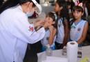 Barreiras: V Campanha Nacional de Hanseníase, Verminoses, Tracoma e Esquistossomose tem início na Escola Municipal Alcyvando Luz I