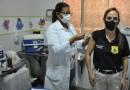Prefeitura de Barreiras promove a imunização de Guardas Civis Municipais e Policiais Civis com 50 anos acima contra a Covid – 19