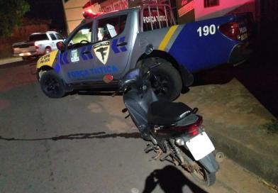Dupla de infratores que transitava com veículo furtado é apreendida em Araguaína