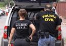 Polícia realiza busca e apreensão em residências de suspeitos de divulgar fotos íntimas de mulheres no Tocantins