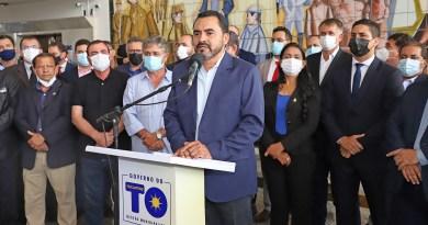 Em seu primeiro discurso como governador, Wanderlei se compromete com servidores e equilíbrio fiscal