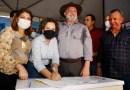 """Josi Nunes assina convênios do """"Tocando em Frente"""" e Gurupi recebe mais de R$ 3 milhões para obras e infraestrutura"""