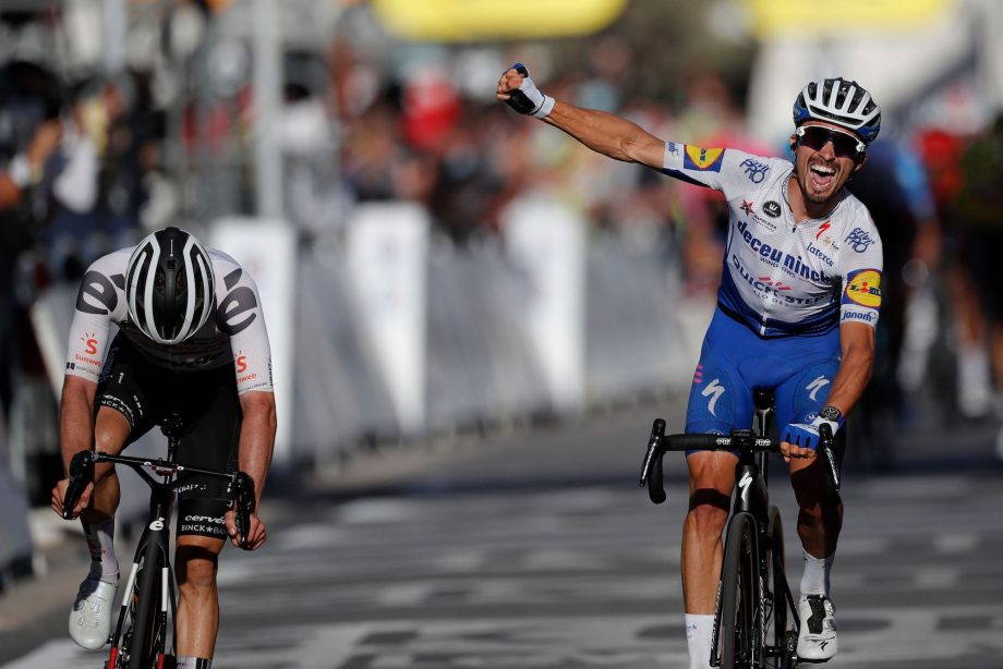 Tour De Francia Julian Alaphilippe Gano La Segunda Etapa Y Es Lider Noticia Impacto