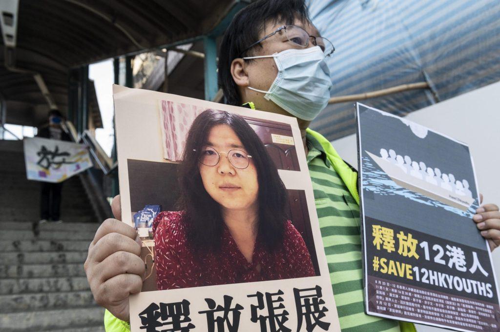 Condenan a cuatro años de prisión a periodista china que denunció temas del coronavirus en Wuhan