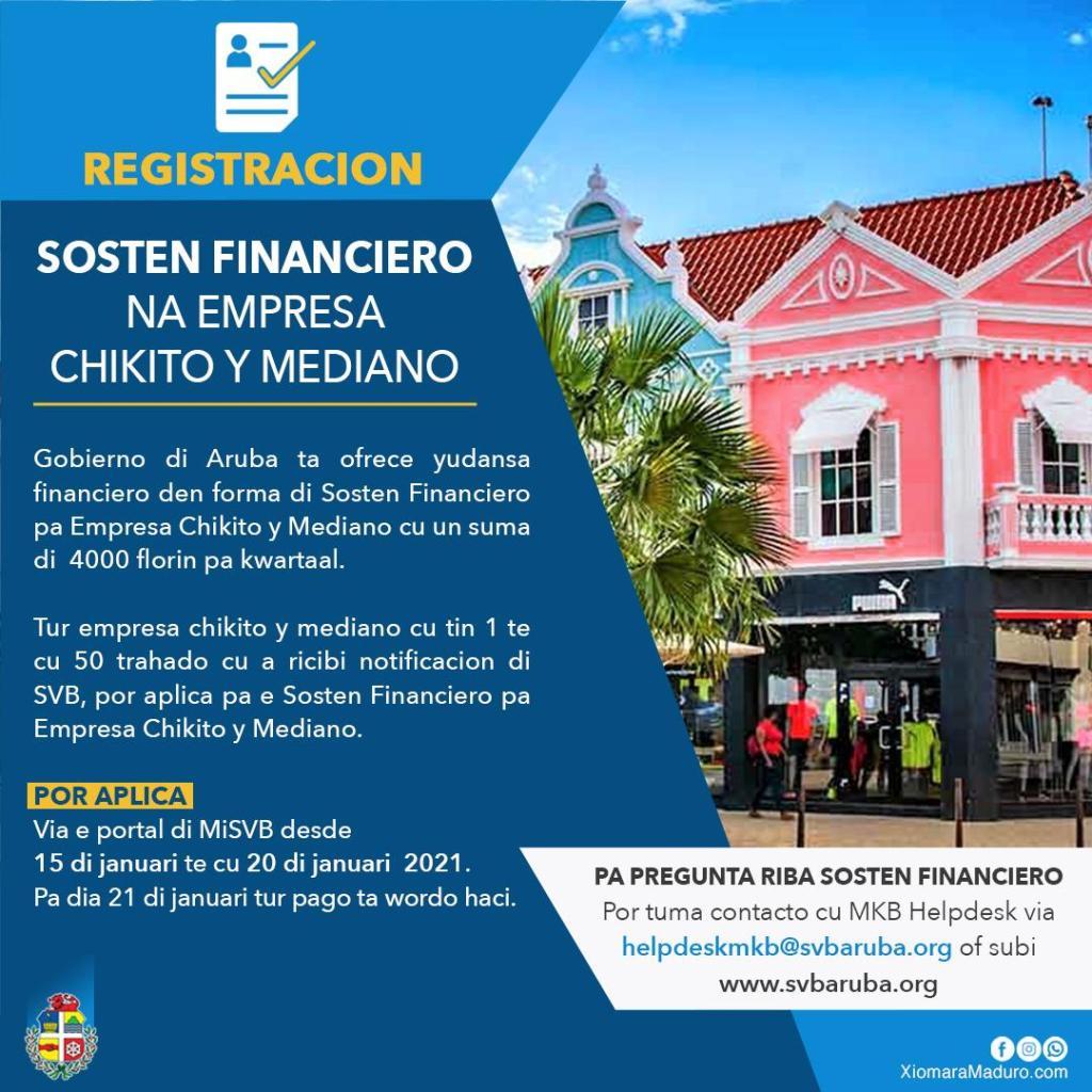 Empresas pequeñas y medianas recibirán sostén financiero en el 2021 también, solicitudes abiertas del 15 al 20 de enero