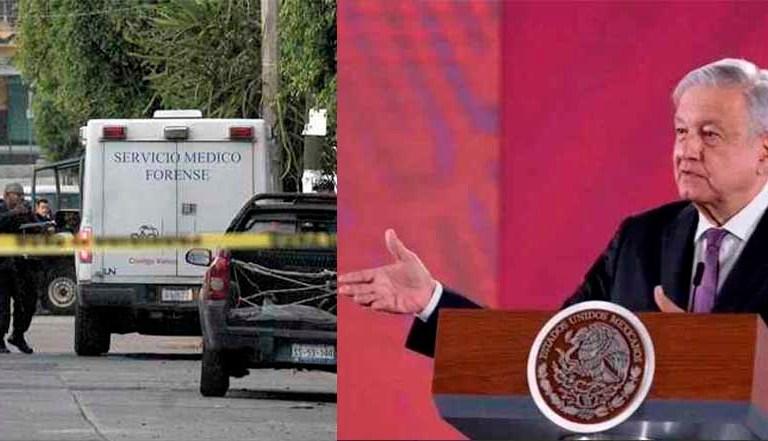 """Violencia en Guanajuato """"se nos está saliendo de lo normal"""": AMLO"""