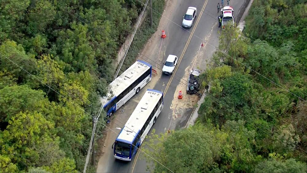 Acidente de ônibus Sambaíba