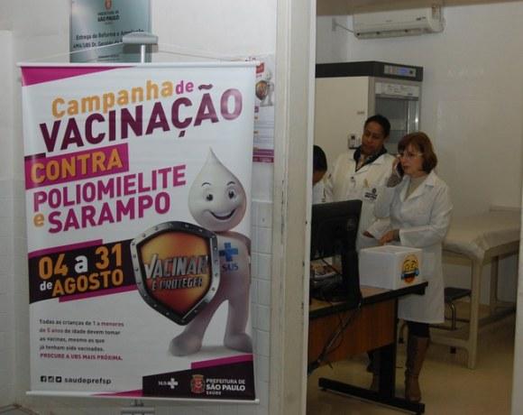 sarampo poliomielite