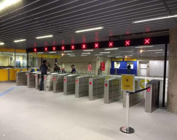 Funcionários Estação São Paulo-Morumbi
