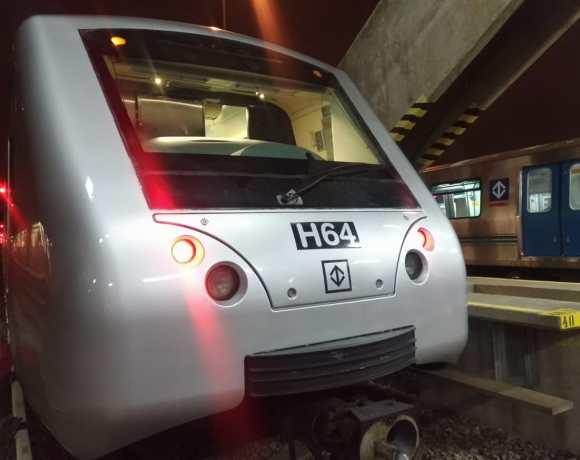Frota H novos trens Metrô de SP