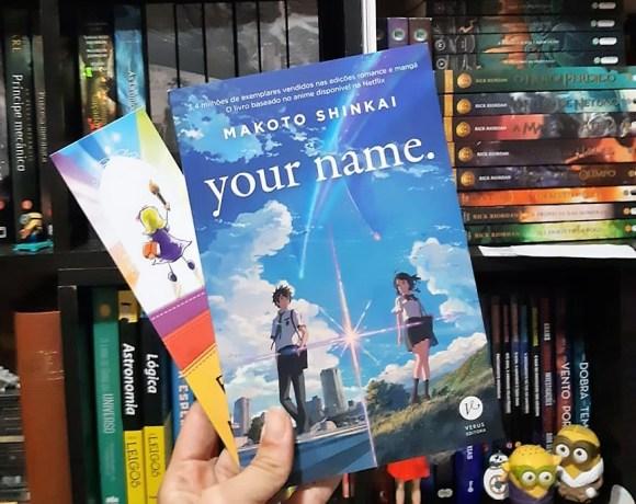 Livro Your Name da Verus Editora
