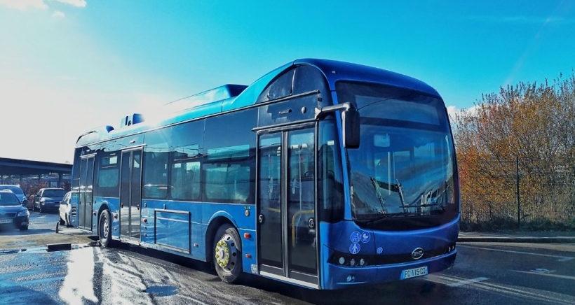 BYD ônibus elétrico