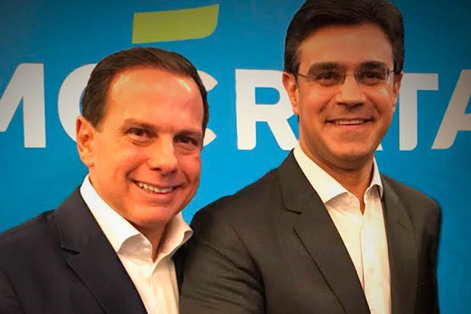 João Doria e Rodrigo Garcia Linha 17-Ouro