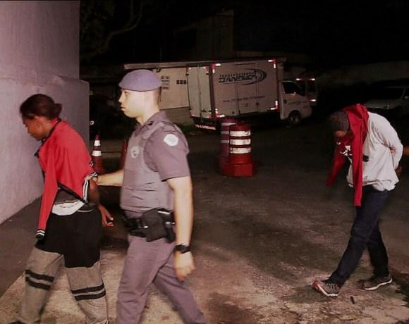 Zona Sul casal preso após assaltar ônibus