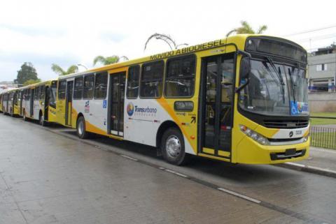 Greve de ônibus em Guarulhos SP