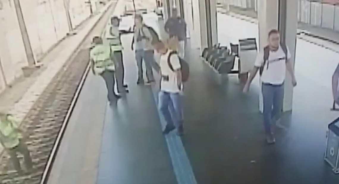 agressão a segurança na Linha 12 da CPTM