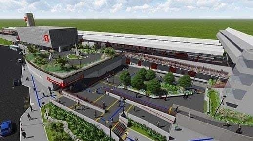 Nova estação de Franscisco Morato