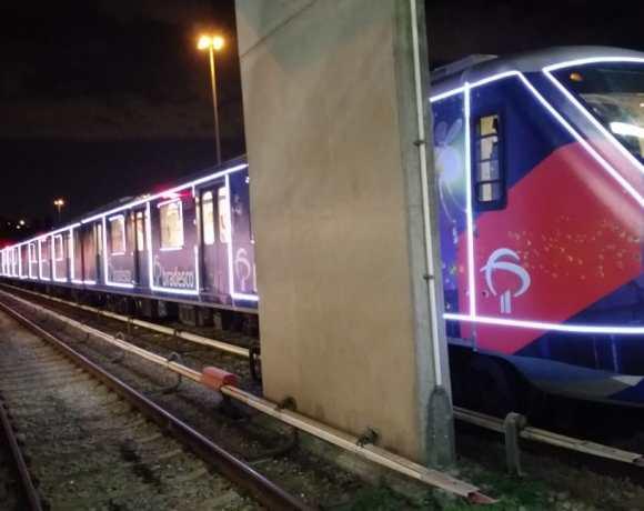 trem natalino