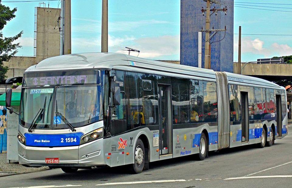 Ônibus da SPTrans