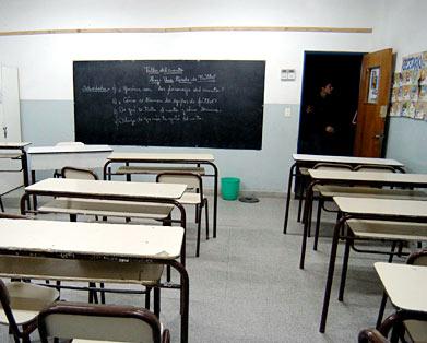 el paro docente tiene un alto índice de acatamiento