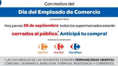 Photo of DIA DEL EMPLEADO DE COMERCIO: ¿SHOPPINGS ABIERTOS O NO?