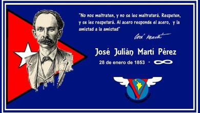 Photo of HOMENAJE A JOSÉ MARTÍ