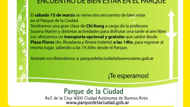 Photo of CHI KUNG EN EL PARQUE DE LA CIUDAD PARA TODOS