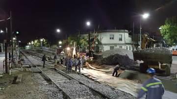 Photo of Renovación en el paso a nivel de Nazca