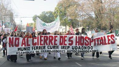"""Photo of Movilización contra el proyecto del """"Complejo Hospitalario Sur"""""""