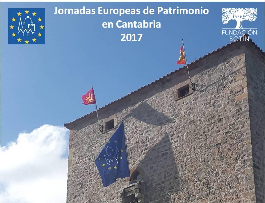 La Fundación Botín invita a las Jornadas Europeas de Patrimonio en Cantabria