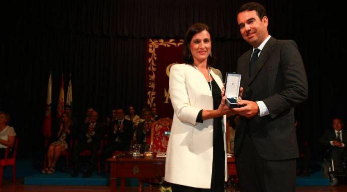 La Fundación Botín recibe la medalla de oro de Santander