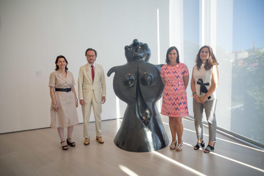 Cedidas cuatro obras de Joan Miró al Centro Botín