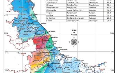 Se establecen récords históricos de lluvia máxima en 24 horas para un mes de enero en #Xalapa y #Orizaba