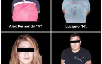 Captura Policía Estatal a presuntos implicados en atentado contra servidoras públicas
