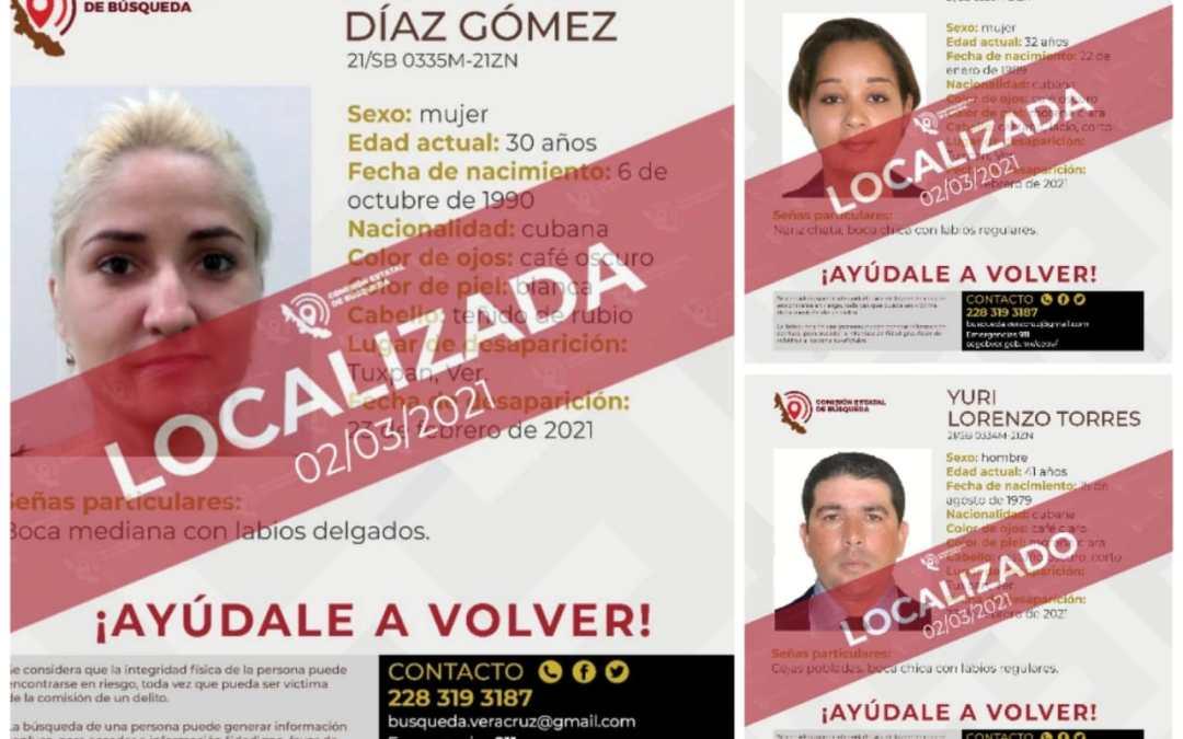 Concluye búsqueda de cubanos reportados como desaparecidos; habrían cruzado la frontera hacia Estados Unidos