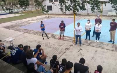 Exitoso Torneo Relámpago de Voli bol Mixto en Cerro Azul.