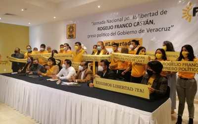 Anuncian jornada nacional por la libertad de Rogelio Franco Castán