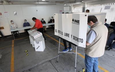 Inicia INE simulacros de protocolos sanitarias que se aplicarán en casillas durante jornada electoral