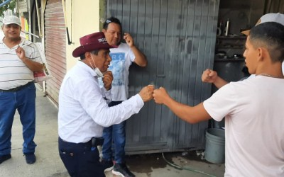 LA OCHOA PERCIBE A GENARO IBAÑEZ COMO LÍDER DE LA CUARTA TRANSFORMACION
