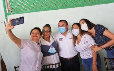 Las familias y madres de Tuxpan tendrán un mejor futuro: Pepe Mancha