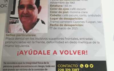 Hijos de Cresencio Vera piden investigación exhaustiva para localizar a su padre; señalan actuación «dolosa» de FGE