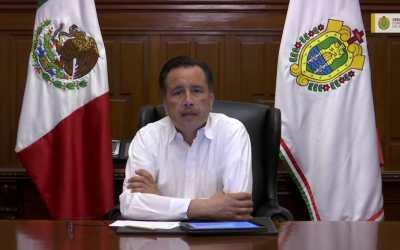 Pide gobernador a veracruzanos ser más estrictos ante «aceleramiento inusual» de contagios