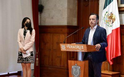 Confirma Gobernador que Veracruz avanzó a semáforo amarillo; anuncia nuevas sedes de vacunación
