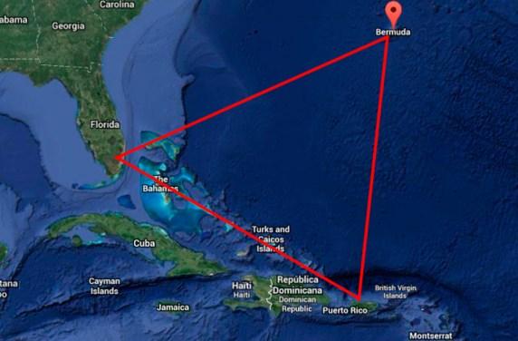 Resultado de imagen de triangulo de las bermudas