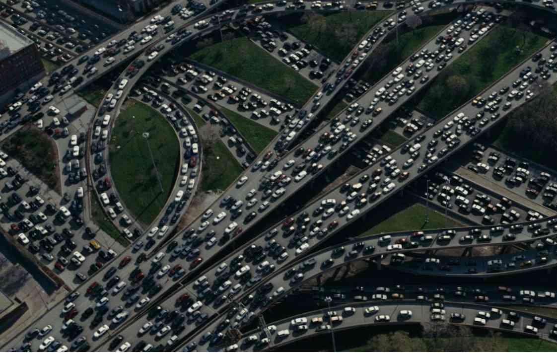 Atasco enorme en autovías