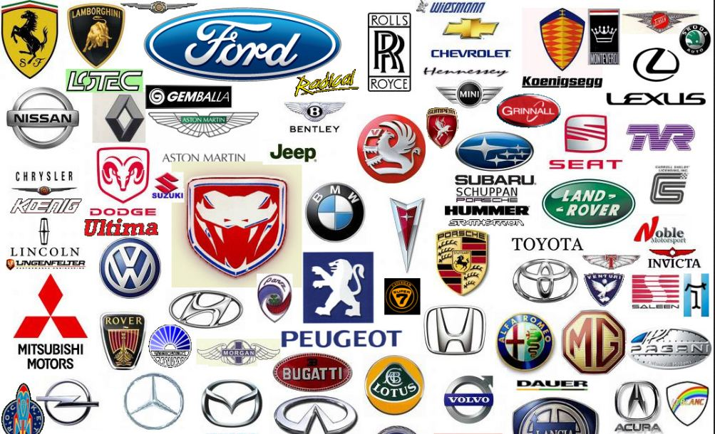 Luxury Sports Car Emblems