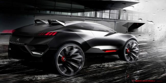 Peugeot Quartz Concept 2014 08 650x325 Peugeot Quartz Concept, ¿marcando el camino hacia un SUV deportivo galo?